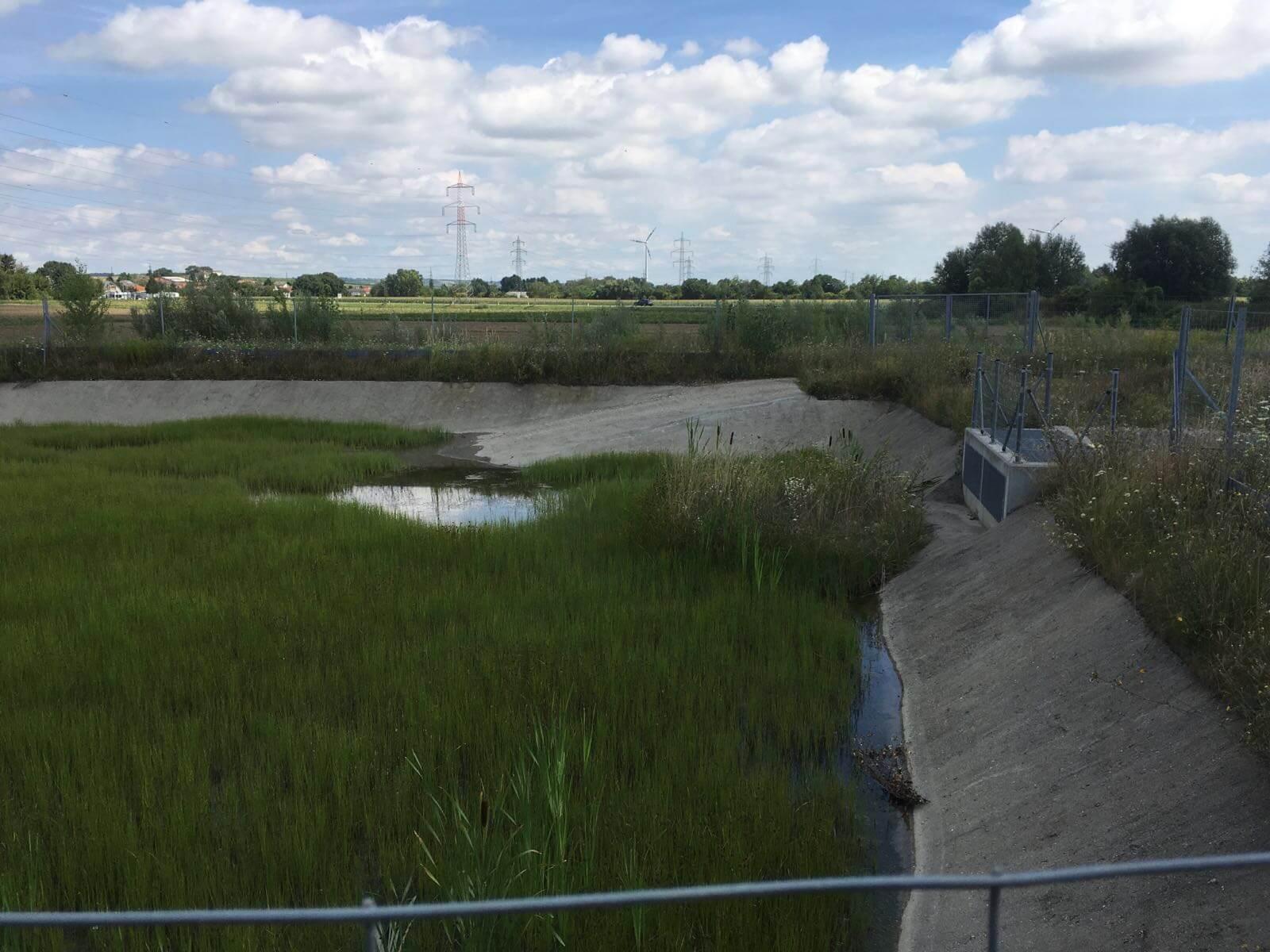 Wartung Gewässerschutzanlage